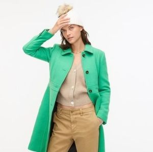 J. Crew classic wool day coat